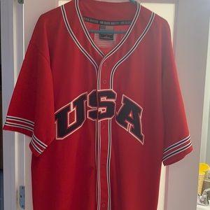 Men's USA God Bless America Baseball Jersey